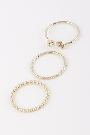 Casual Ring Set 9BCF4