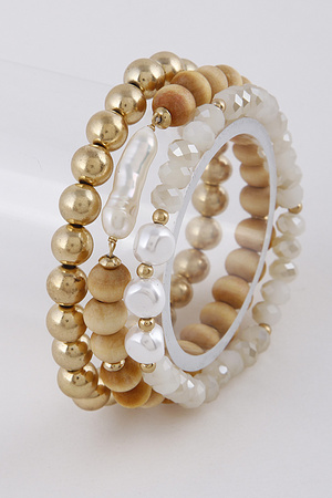 Naturally Created Style Bead Bracelets 9EBD5