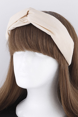 Twisted fabric Head Band