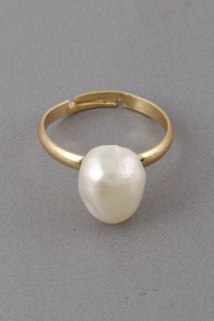 Antique Style Pearl Ring 9DAC3