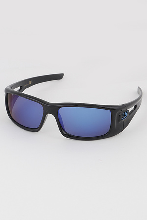 KIDS Sporty Mirrored Lens Sunglasses