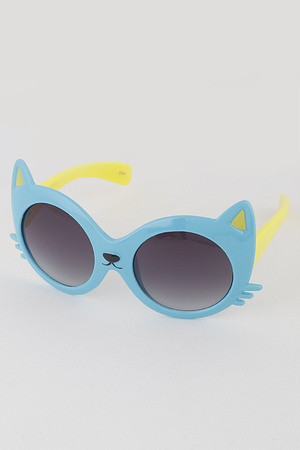 KIDS Cat Round Sunglasses