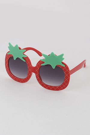 KIDS Pineapple Round Sunglasses