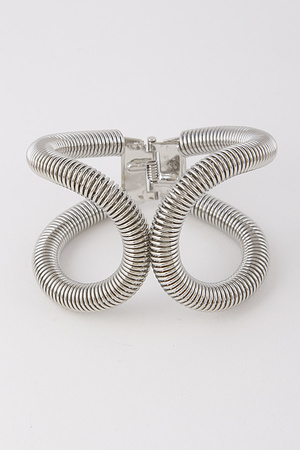 Metal Open Cut Bracelet 8HCA5