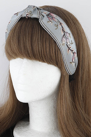 Knotted Old Fabric Headband