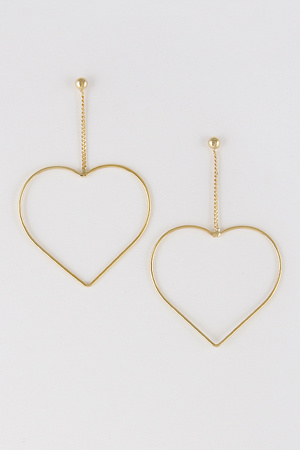 My Heart Belongs To You Earrings 8ABA8