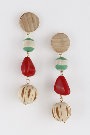 African Style Mixed Earrings 8HAC9
