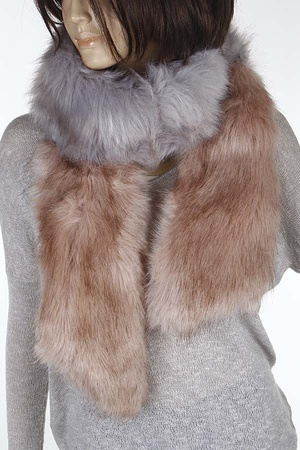 Faux Fur Daily Scarf 8ICD