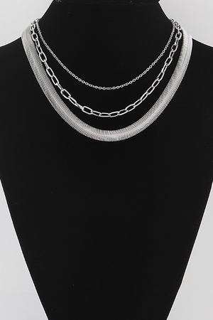 Simple Multi Layered Necklace