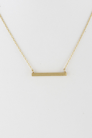 Simple Thin Bar Necklace 9IBC7
