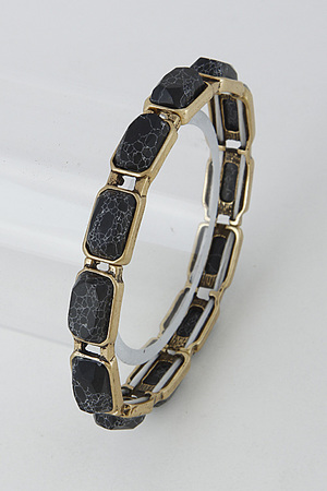 Rectangle Stone Casual Bracelet 6HAD2