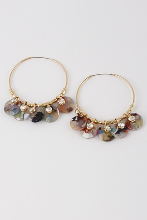 Lovely Hoop Earrings 8EBA7
