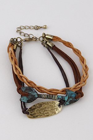 Antique Style Multi Layer Bracelet 7KAB4
