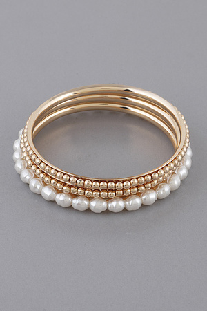 Pearl Beads Round Bracelet