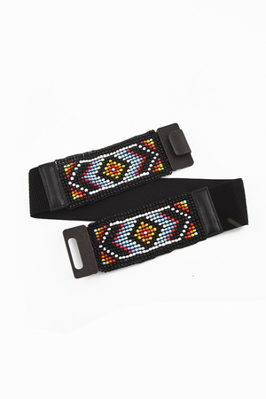 Beads Embellished Belt
