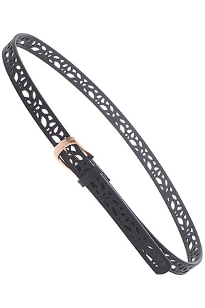 Abstract Cutout Belt