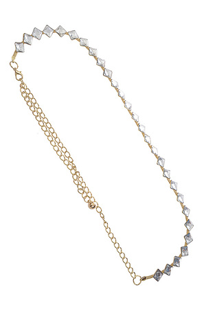 Cubic Diamond Chain Linked Belt