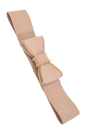 Cute Ribbon Pop Out Belt