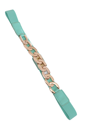 Thick Chain Front Elastic Belt