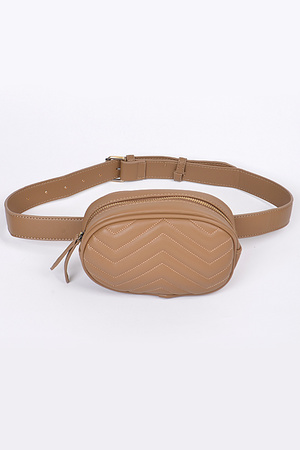 Fashion Plain Fanny Pack.