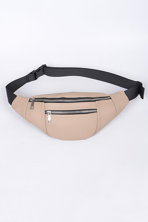 Two Zipper Fanny Pack.