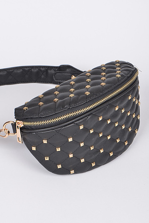 Lady Fanny Pack With Zipper.