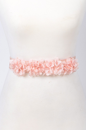 Delicate Flower Belt