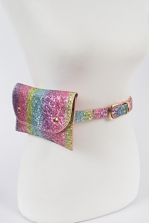 Colorful Glitter Fanny Pack.