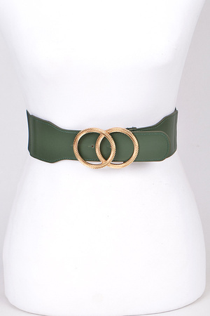 Two Linked Circle Elastic Belt