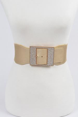 Shiny Thick Belt