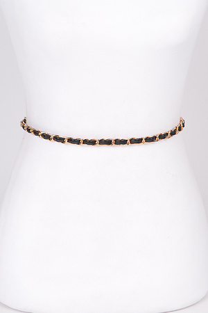 Thin Chain Elastic Belt
