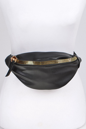 Simple Fanny Pack With Zipper.
