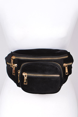 A New Day Fanny Pack With Zippers