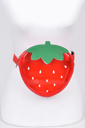 Strawberry Adjustable Fanny Pack.
