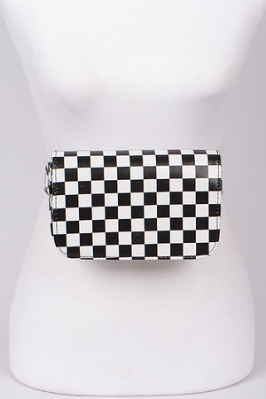Chess Print Fanny Pack