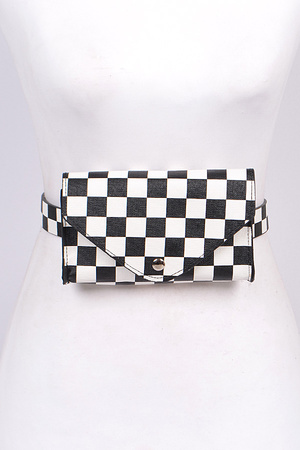 Chess Printed Fanny Pack