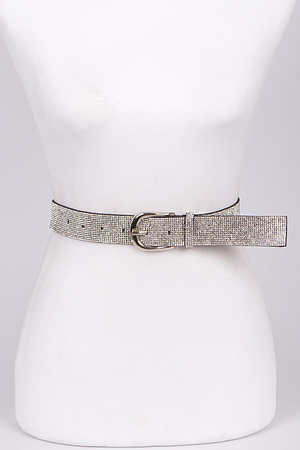 Lovely Rhinestone Belt.