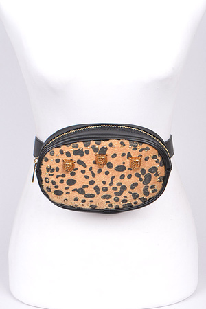 Leopard Print Fanny Pack