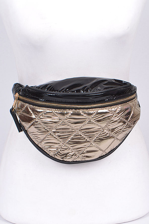 Glossy Fashionable Fanny Pack