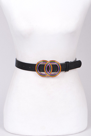 Two Circle Lovely Belt