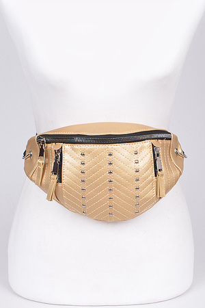 Studded Casual Fanny Pack