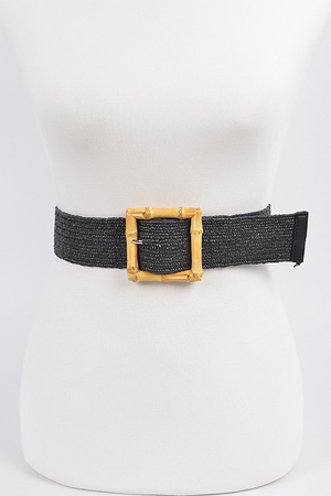 Braided Buckle Belt.