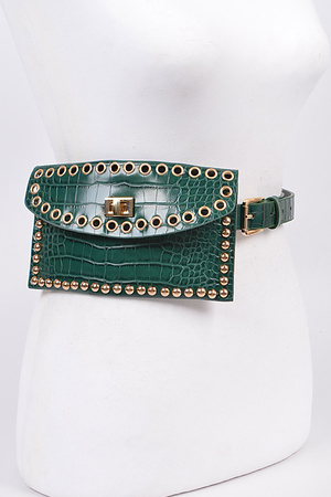 Studded Intricacy Fanny Pack