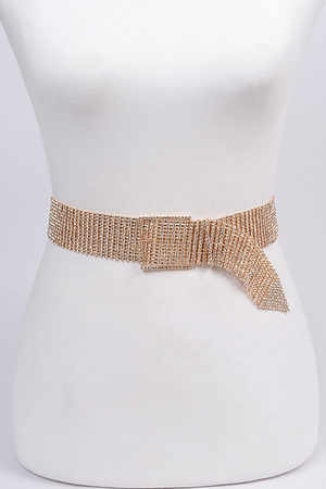 Chainlink Rhinestone Belt.