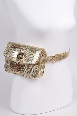 Twist Clasp Fanny Pack
