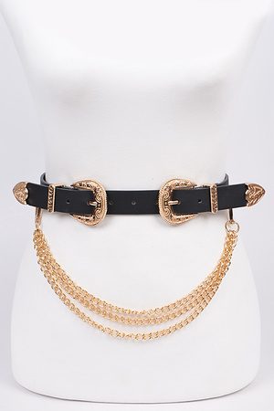 Removable Chain Belt.