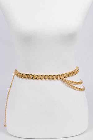 Layered Chain Belt.