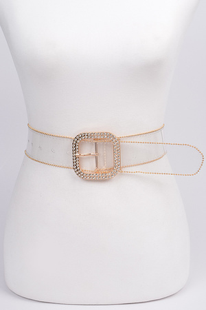 Bead Frame Clear Belt.