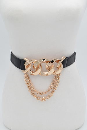 Drop Cross Chain Elastic Belt