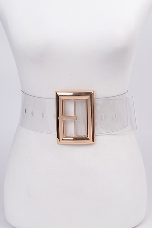 Metal Square Detailed Belt.
